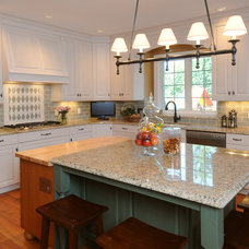 Traditional Kitchen by Denise Quade Design