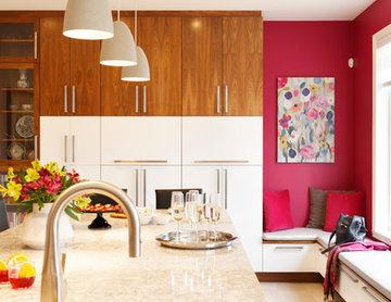 Two tones modern kitchen
