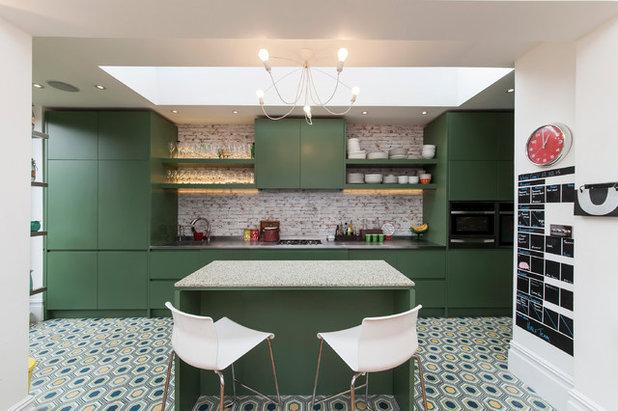 Transitional Kitchen By Aegis Interior Design Ltd