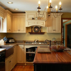 Traditional Kitchen by Howe Lumber Company