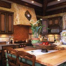 Mediterranean Kitchen by Sharon Flatley Design