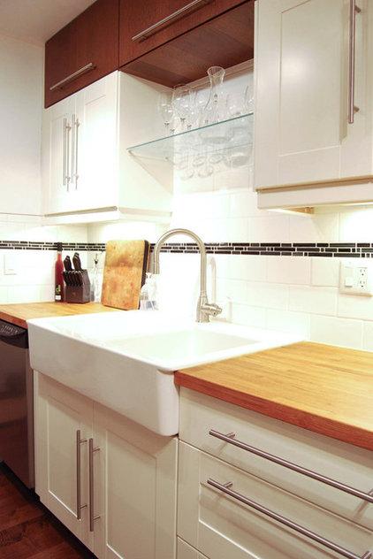 Contemporary Kitchen by Megan Buchanan