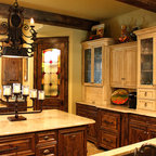 Tuscany Style Kitchen Great Room Mediterranean Kitchen