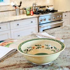 Traditional Kitchen Typhoon Bordeaux Granite Countertops