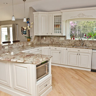Full Granite Backsplash | Houzz