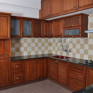U Shaped Modular Kitchen Bangalore