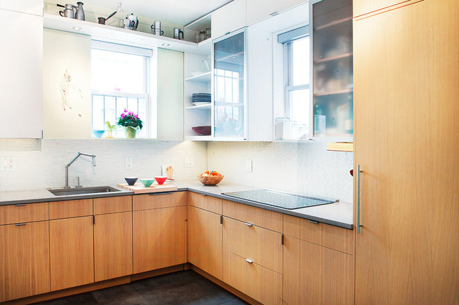 Contemporary Kitchen by Impact Remodeling and Construction