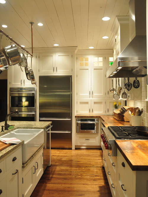 Country Galley Kitchen Designs top 30 farmhouse galley kitchen ideas & remodeling photos | houzz