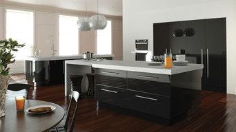 Ultragloss Black Kitchen