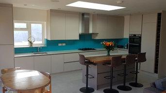 Ultramatt Metallic Cashmere & Basalt Kitchen
