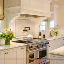 Traditional Kitchen by Alexandra Luhrs Interior Design