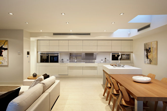 Contemporary Kitchen by Platinum Building Group