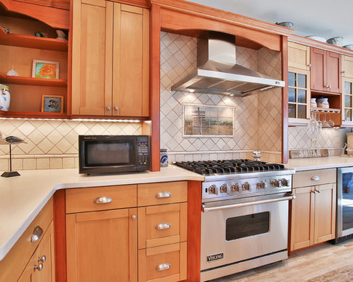 Tone kitchen with furniture style island in manasquan new jersey