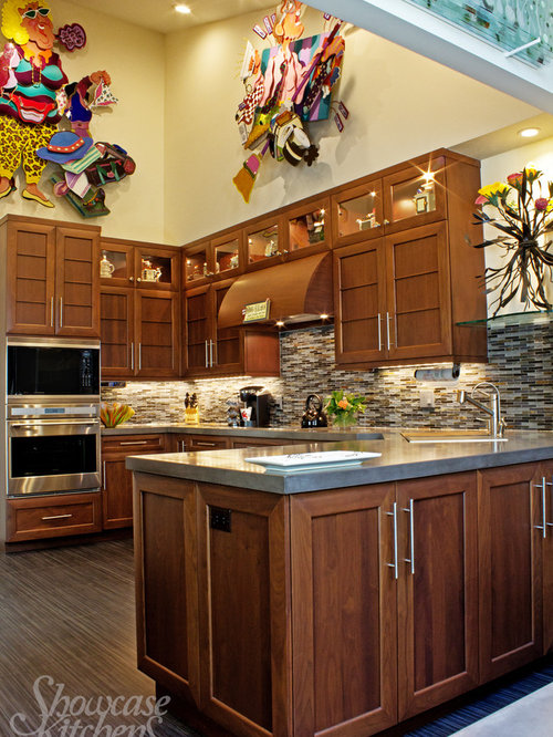 Asian kitchen design ideas renovations photos with an for Japanese style kitchen sink