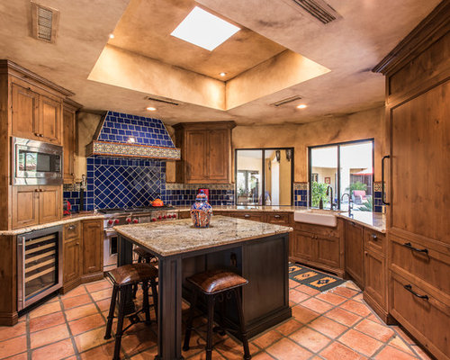 48 Best Southwestern UShaped Kitchen Pictures Southwestern U Enchanting Southwest Kitchen Design
