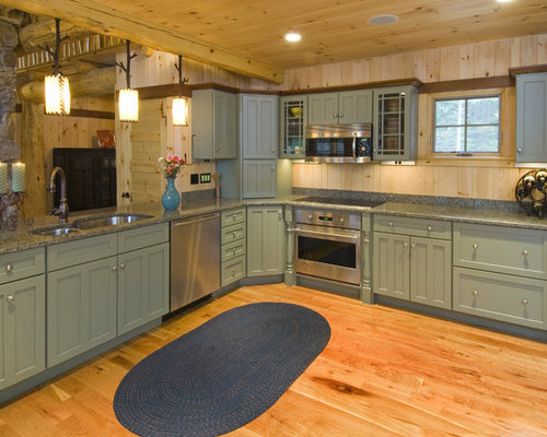 Light Green Cabinets Houzz