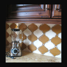 Eclectic Kitchen by Bella Tile and Stone