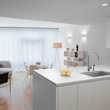 Contemporary Kitchen by Unique Window Treatments