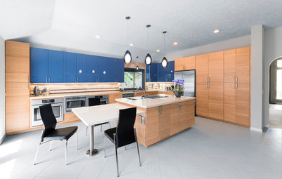 New This Week: 3 Cheery Kitchens That Rock Wood Cabinets