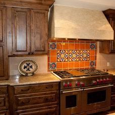 Mediterranean Kitchen Countertops by Monica Ledesma Design