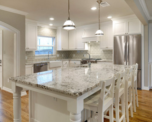 Bianco Antico as well Siena Dining Table also Modern Craftsman as well Taupe Subway Tiles further Fabulous Homes Ready For Fall. on university park remodel traditional kitchen dallas