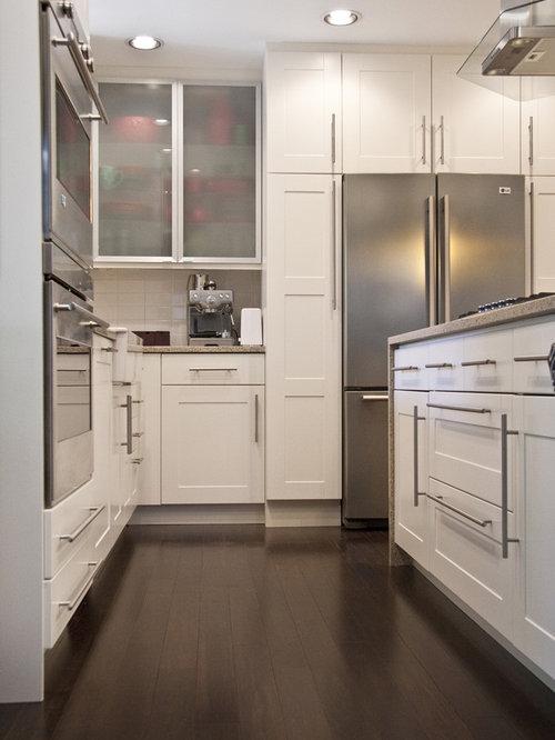 Cabinets Around Refrigerator | Houzz