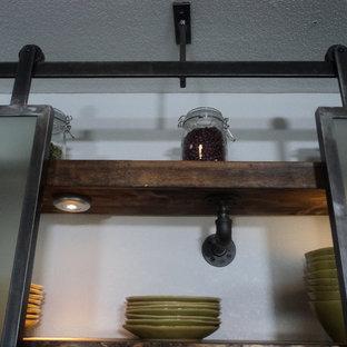 Design ideas for a bohemian kitchen in Sacramento.