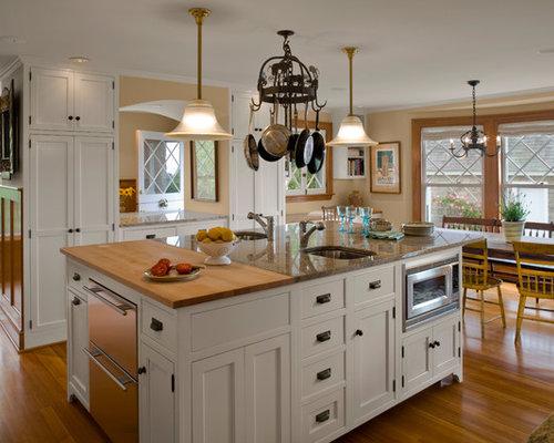 Antique Butcher Block Table Home Design Ideas Pictures