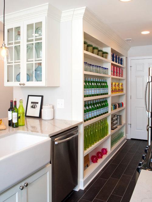 shallow depth storage home design ideas renovations photos. Black Bedroom Furniture Sets. Home Design Ideas