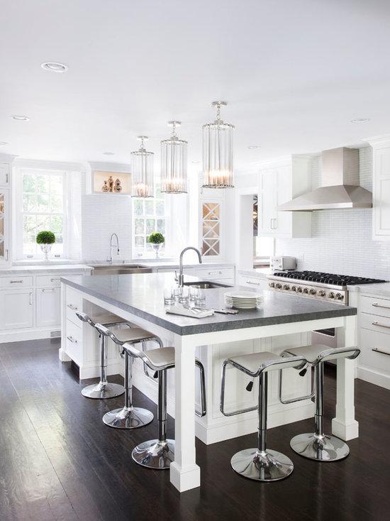 White Kitchen Designs With Islands white kitchen island | houzz