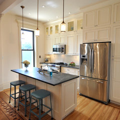 eclectic kitchen by Brooklyn Limestone