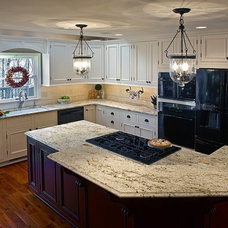 Traditional Kitchen by J.Francis Company LLC