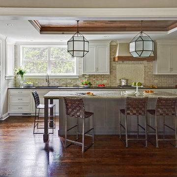 Updated Tudor Kitchen - Glen Ellyn, IL
