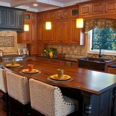 Traditional Kitchen by Interior Enhancement Group, Inc.