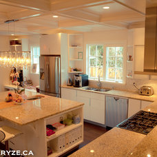 Contemporary Kitchen by ARYZE Development and Construction, Victoria BC