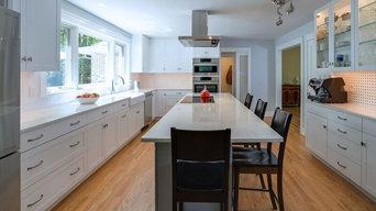 Upper Bucks Contemporary Kitchen with Ultracraft