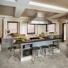 Transitional Kitchen by Robert Granoff