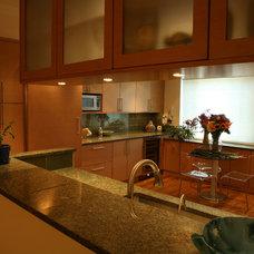 Contemporary Kitchen by Daniel G. Failla Architects