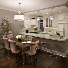 Transitional Kitchen by Emc2 Interiors