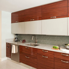 Contemporary Kitchen by darci hether new york