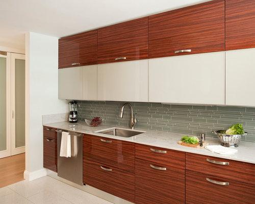 k chen in u form mit terrazzo boden ideen bilder. Black Bedroom Furniture Sets. Home Design Ideas