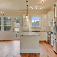 Traditional Kitchen by Neighborhood Homes LLC