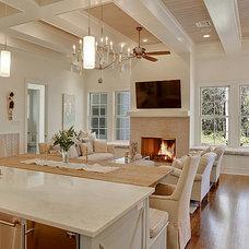 Traditional Kitchen by Maison de Reve Builders LLC