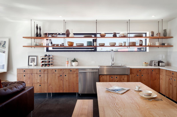 Ideas para dejar las estanter as a la vista en la cocina - Estanterias para cocinas ...