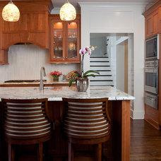 Traditional Kitchen by Kemp Hall Studio
