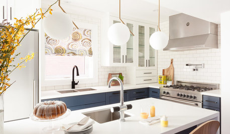 Kitchen of the Week: Modern Cottage Style in 88 Square Feet