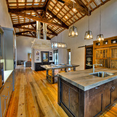 Farmhouse Kitchen by Joubert Design Build