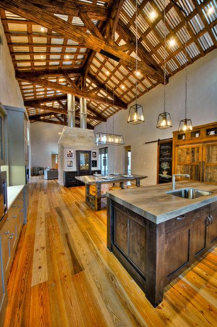 Farmhouse Kitchen by Joubert Design Build