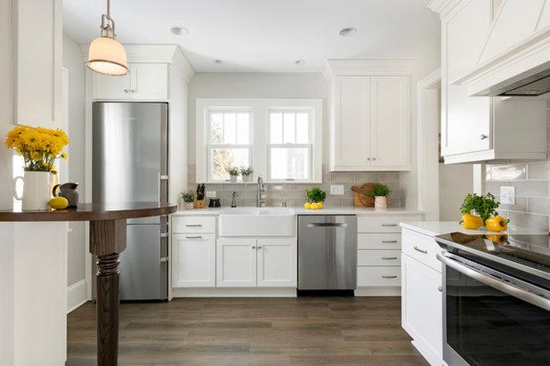 Farmhouse Kitchen by Crystal Kitchen + Bath