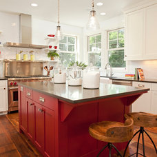 Farmhouse Kitchen by REFINED LLC